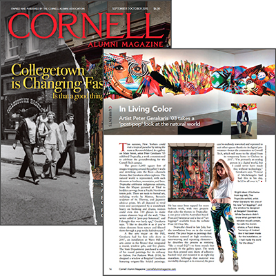 Cornell Alumni Magazine - Sept/Oct 2015