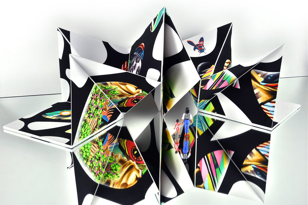 Ventana Origami Sculpture  -  Click here to view more