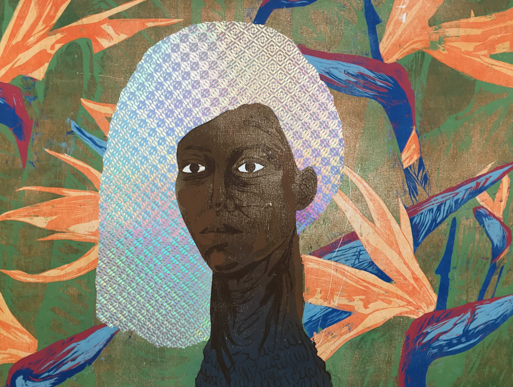 I Am Not Your Chocolate Fantasy Dont Touch My Hair #1 42 1:2 x 34 1:2 inches.png