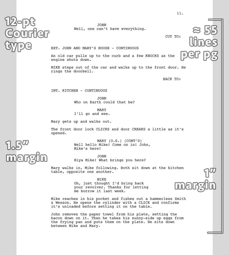 Av script for Av script template