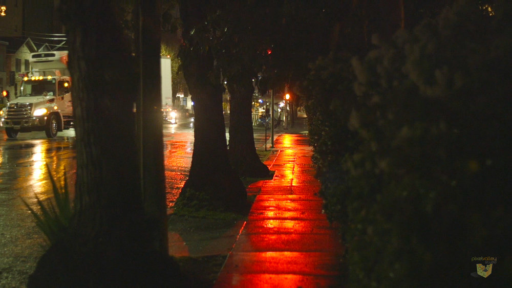Viewers are familiar with the the grainy, high ISO look of night shoots.