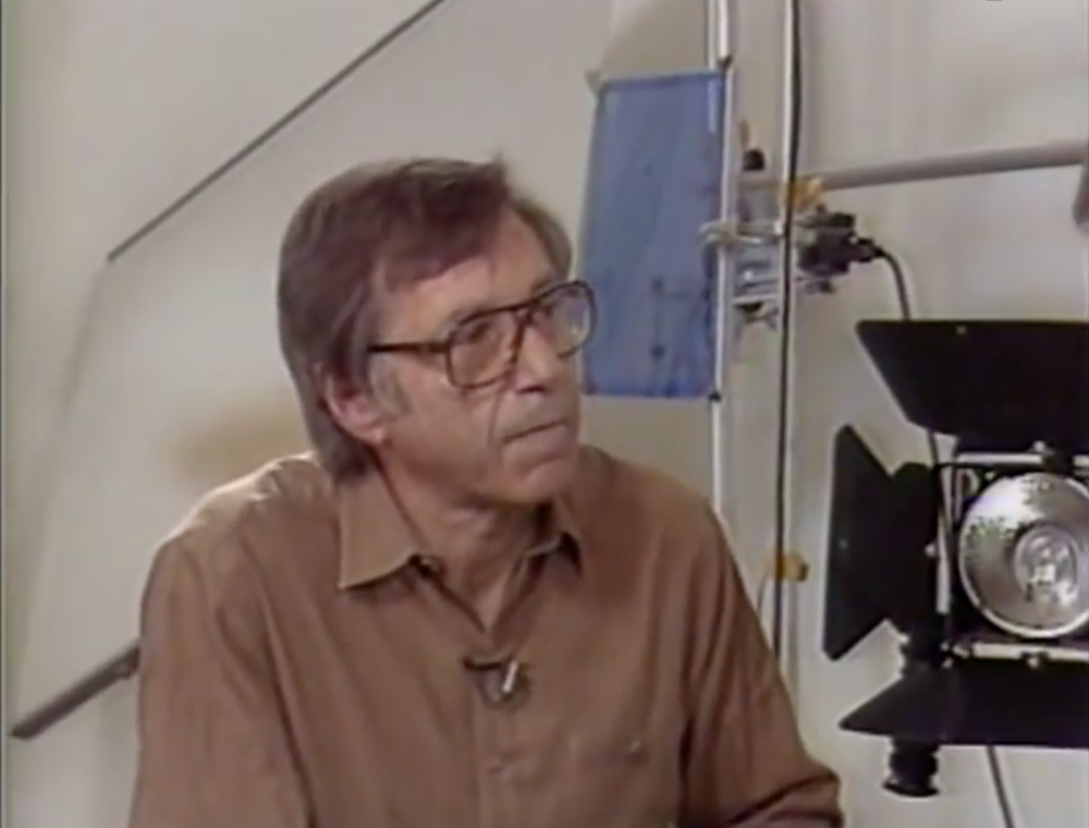 Ross Lowell, inventor of the Lowel Light system and our beloved Gaffers tape. Source: Interview on World Of Photography
