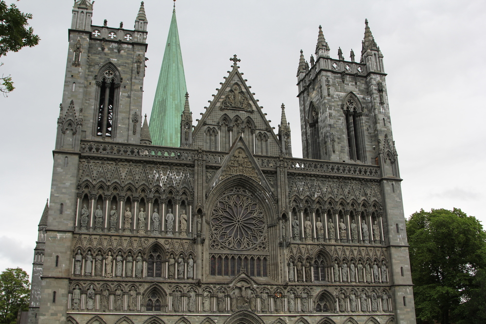 Incredible Cathedral in Trondheim