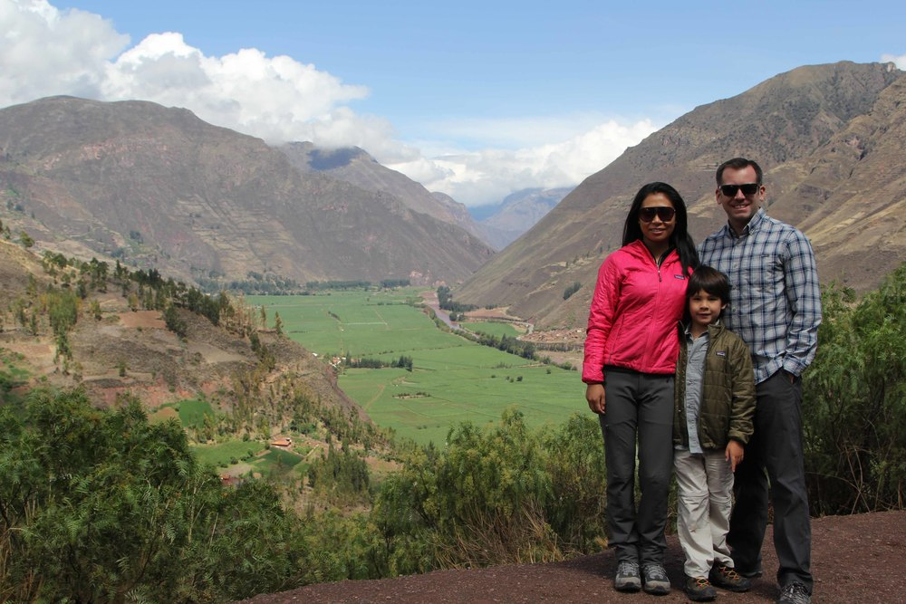 The views throughout the Sacred Valley were really impressive