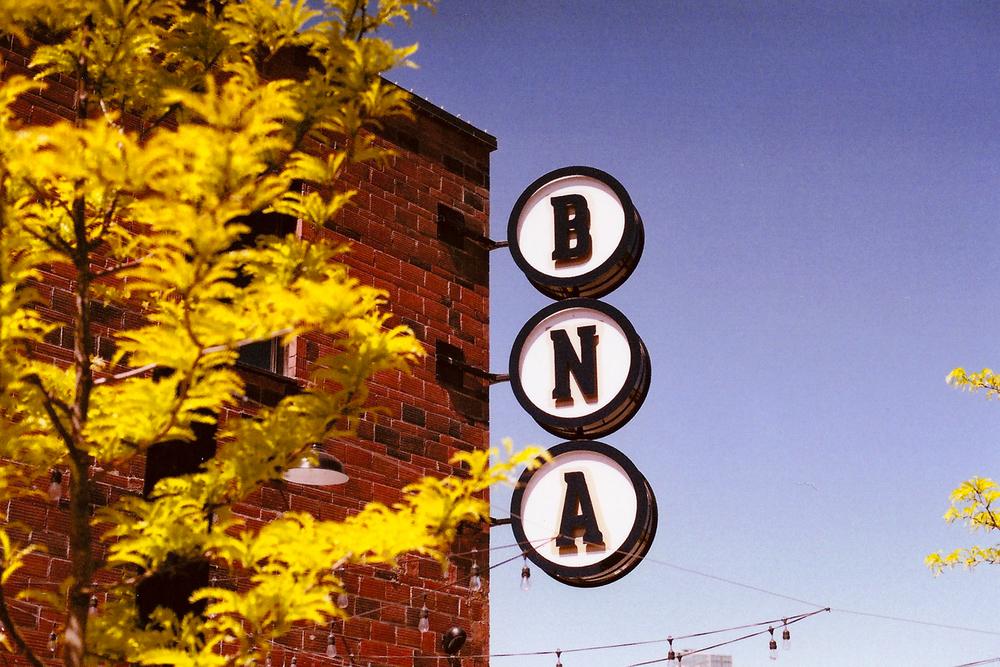 BNA Brewing Co, Kelowna BC. Nikon FE, 50mm F1.4, Fuji 400