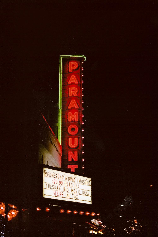 The Paramount Theatre, Kelowna, BC. Nikon FE, 50mm F1.4, Fuji 400