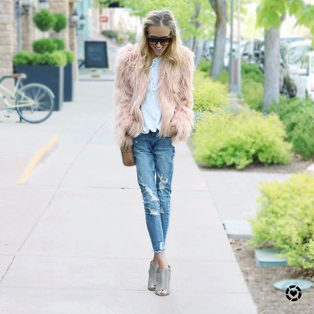 Does a faux fur jacket count as festival attire? New post on Sweet & Sauer - everything in this outfit is under $70! Direct link in bio with all the details. Happy Monday! @liketoknow.it #liketkit #LTKStyleTip #LTKUnder100 http://liketk.it/2rd6j