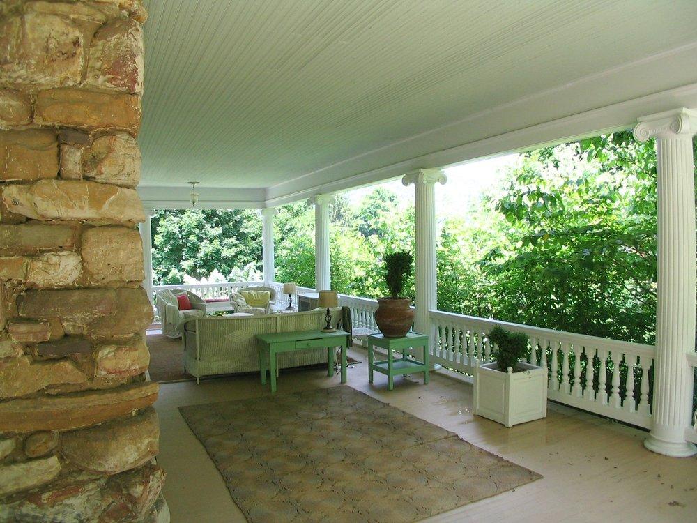 First Floor Porches