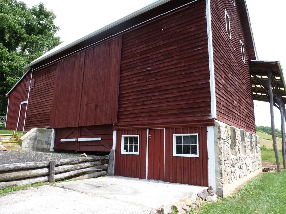 Large Bank Barn
