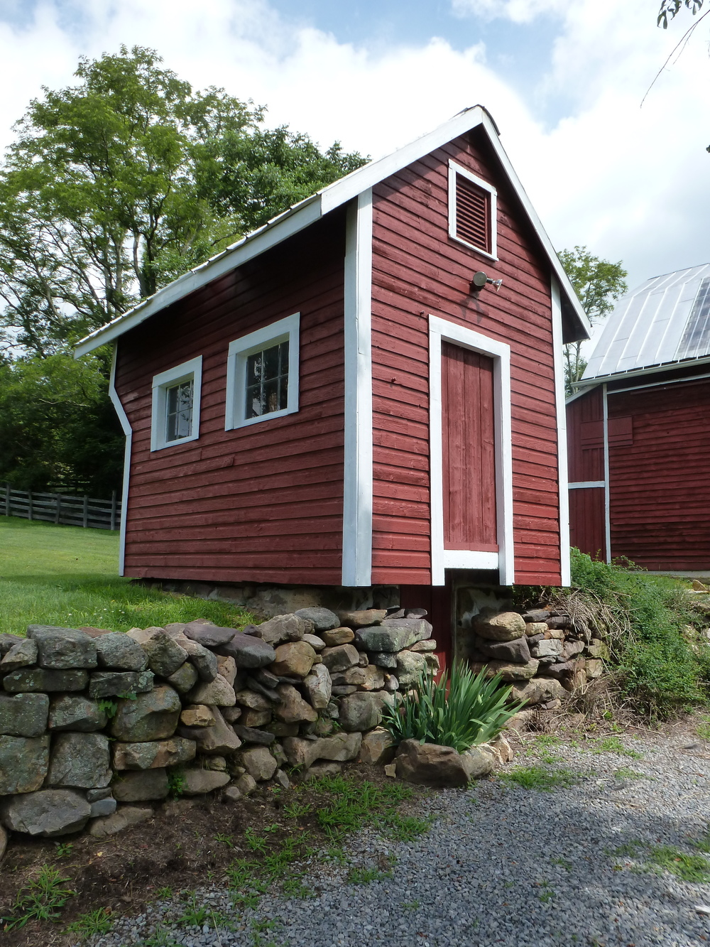 Tool Shed with Root Cellar