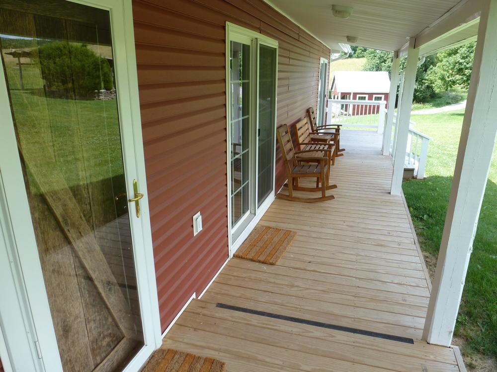 Main House Back Porch