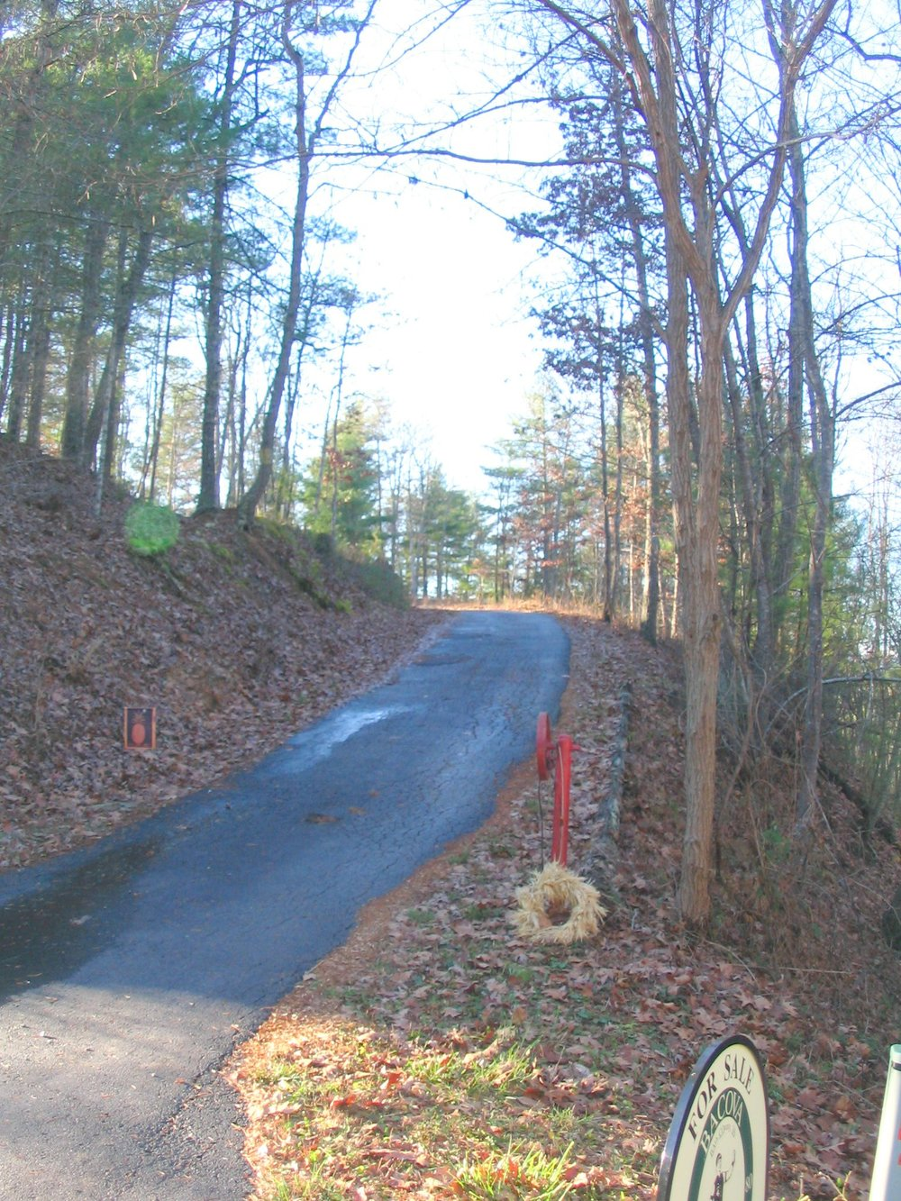 Fully Paved Driveway