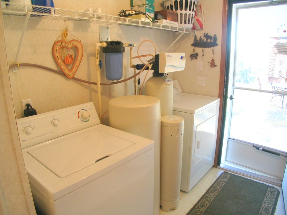 Laundry Room at Back Door