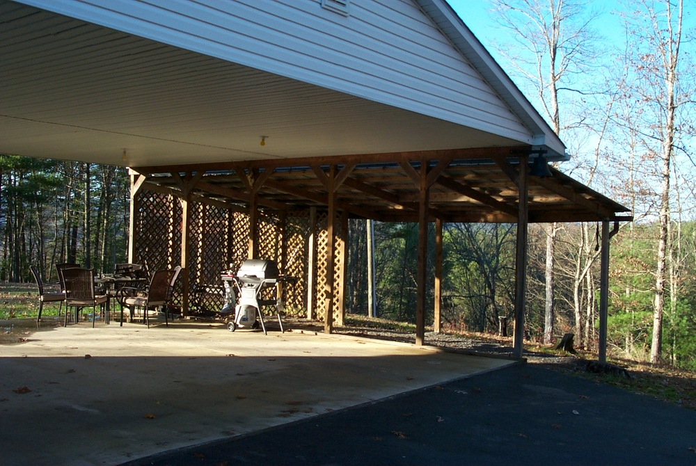 Covered Carport/Patio