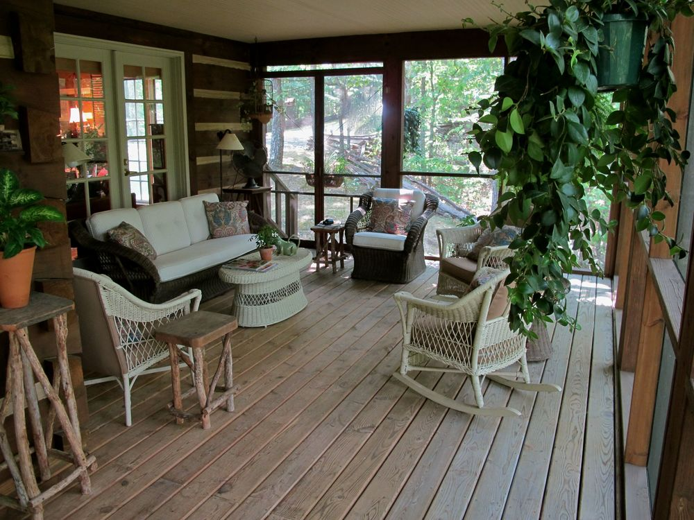 First Floor Porch