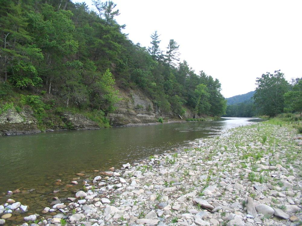 3/4 Mile of Cowpasture River - Downriver