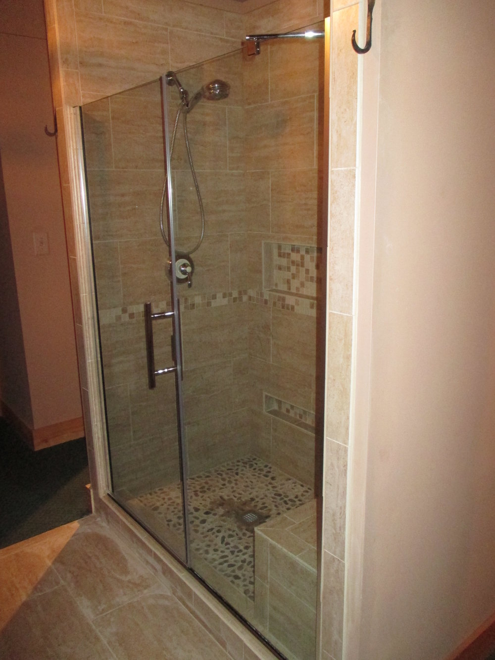 New Master Bath Shower