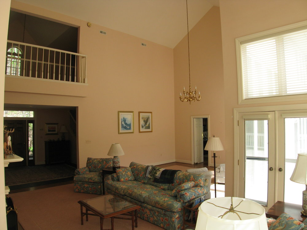 Living/Dining with Second Floor Balcony