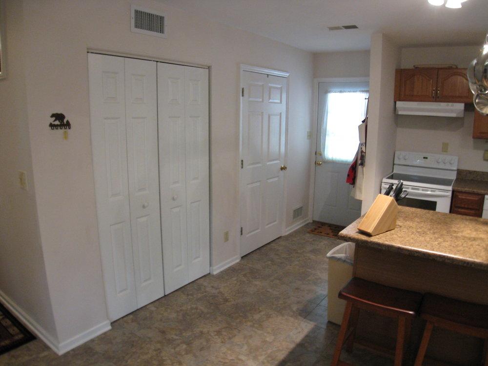 Kitchen to Back Door