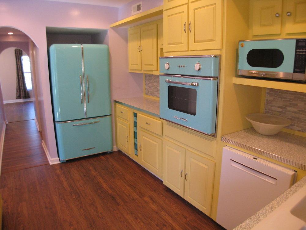 New Retro Kitchen
