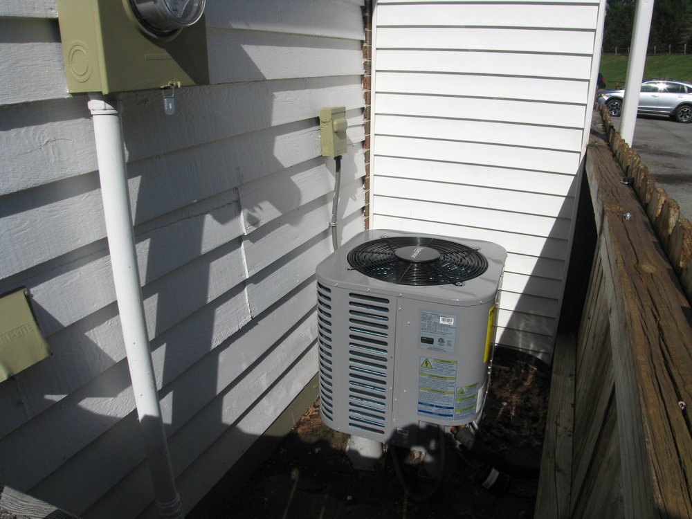 New Heat Pump HVAC