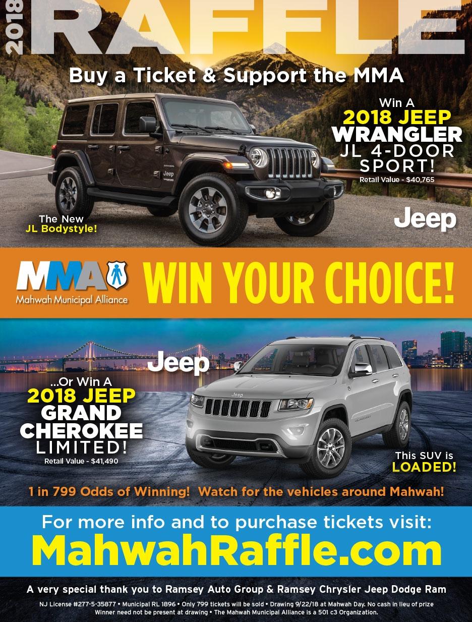 Win a jeep 2018