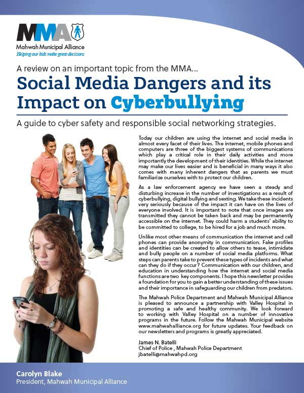 CYBERBULLYING NEWSLETTER