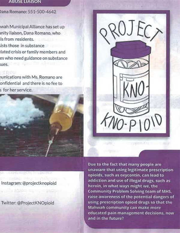 PROJECT KNO-PIOID NEWSLETTER