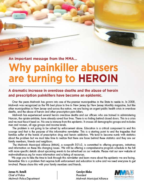 PAINKILLERS / HEROIN NEWSLETTER