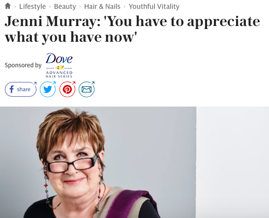 Telegraph Spark Dove Jenni Murray interview