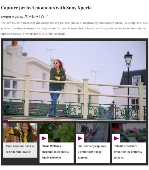 Telegraph Spark Sony Xperia