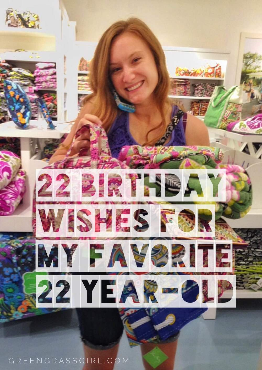 22 Birthday Wishes For My Favorite Year Old