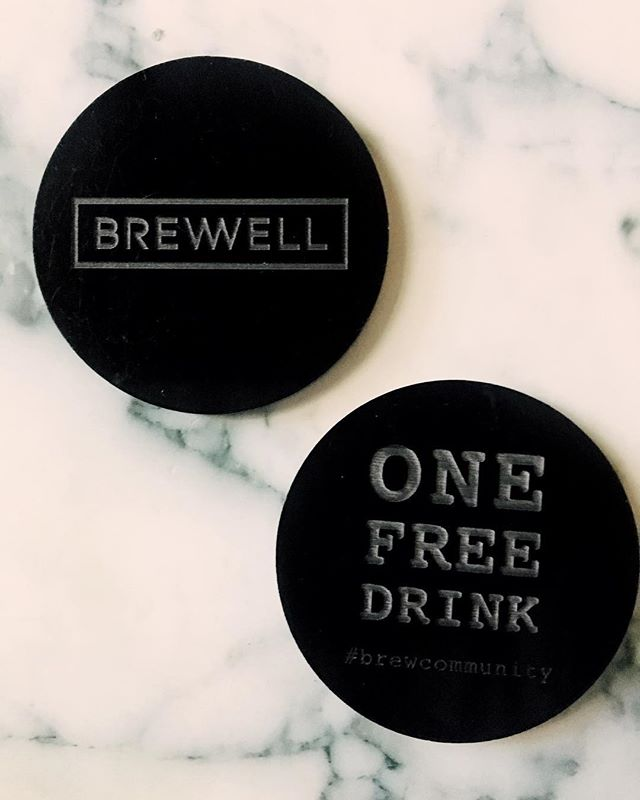 Free drink tokens available for purchase! Get one tomorrow for anyone in need of a Monday pick-me-up!