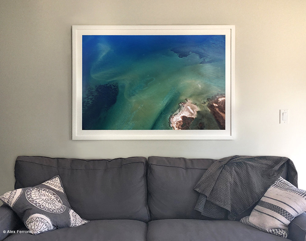 """Palette II"" in Southampton, NY home."