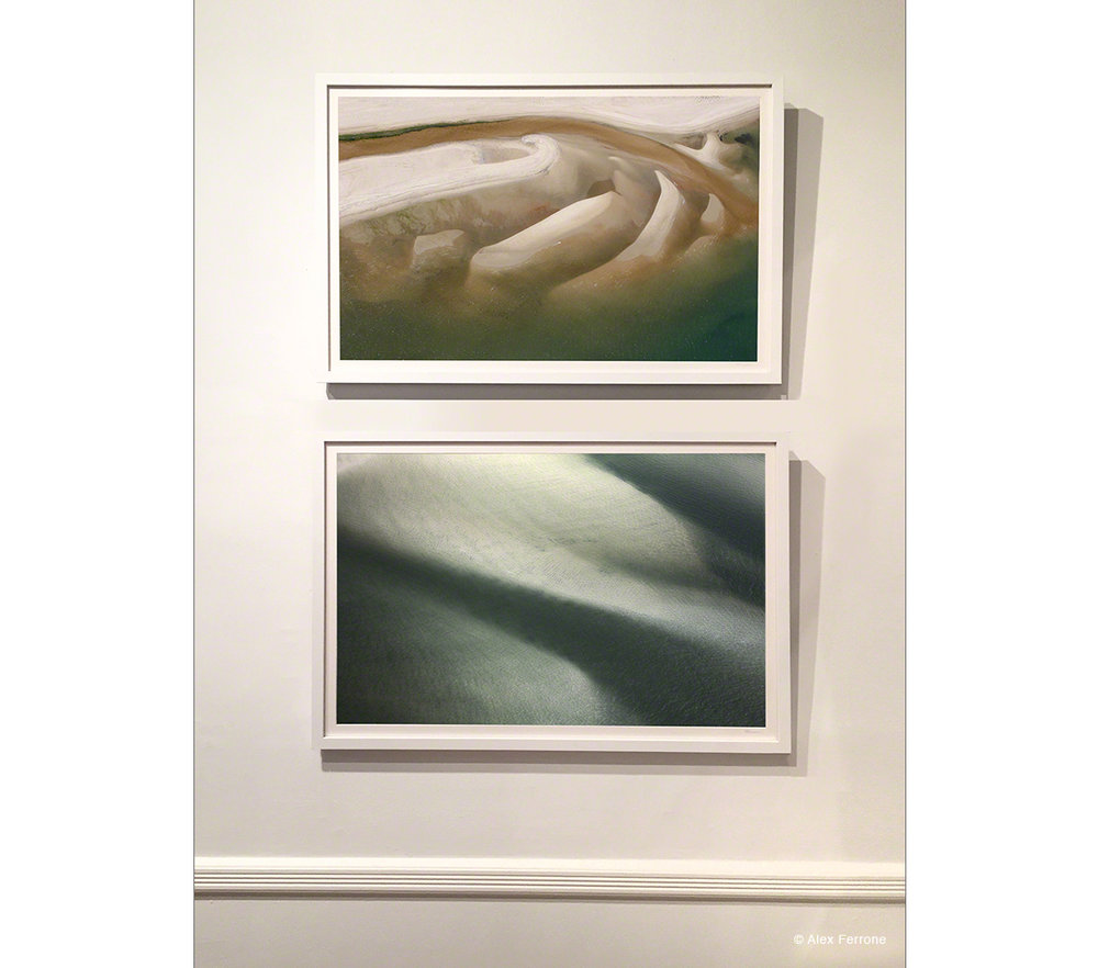 """Genesis"" and ""Sweeping Greys"" on exhibit at Ashawagh Hall East Hampton, NY"