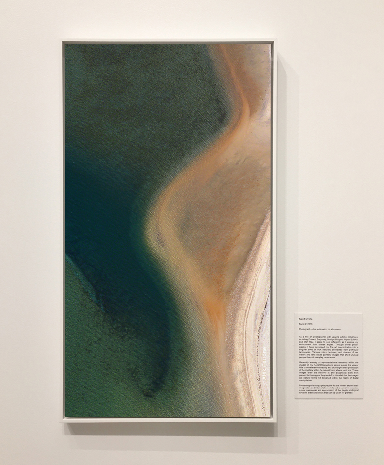 Form II by Alex Ferrone from Aerial Observations on Exhibit at T