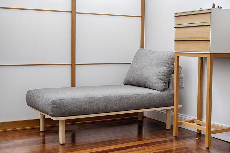 Chaise, $400