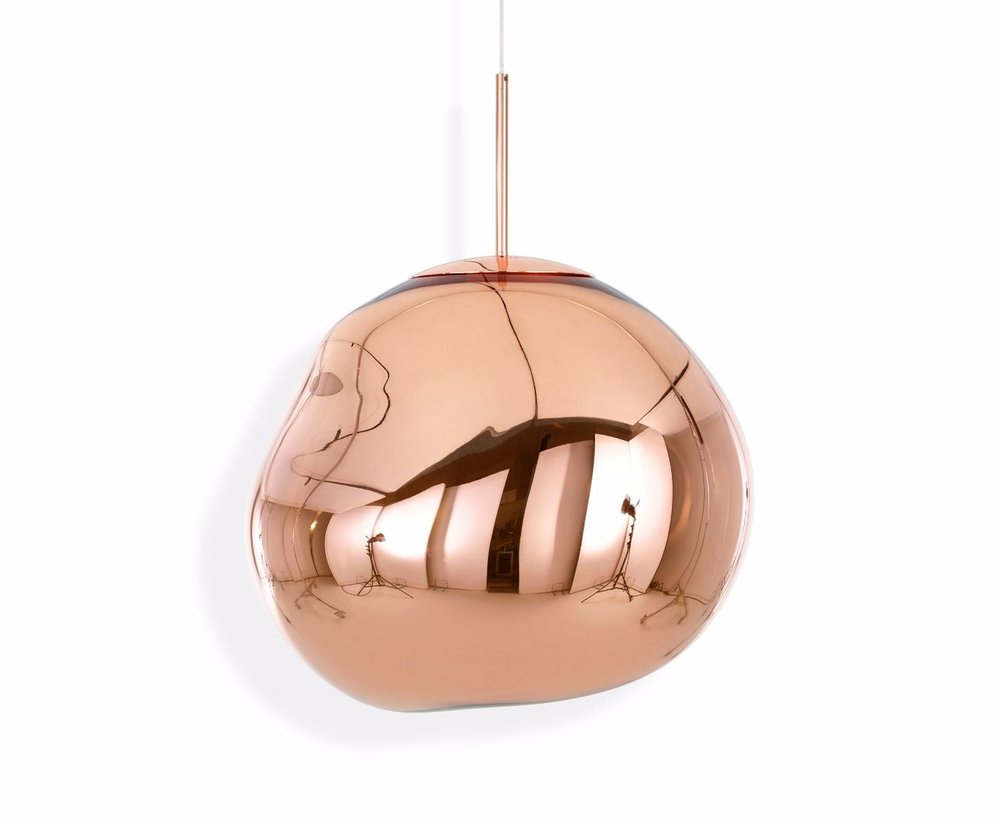 Tom Dixon - Melt Pendant Copper - $1,100