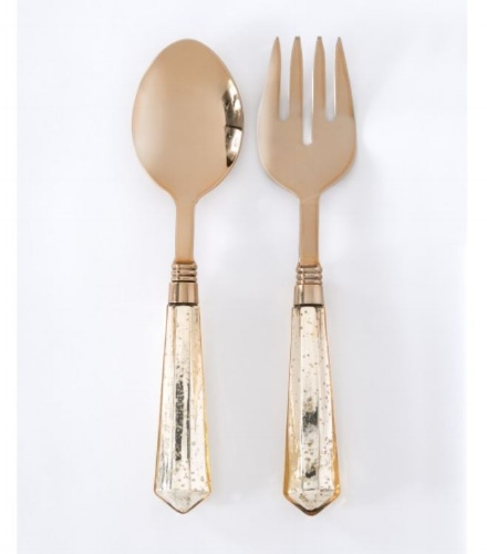 Lulu & Georgia - Rose Gold Salad Servers - $51