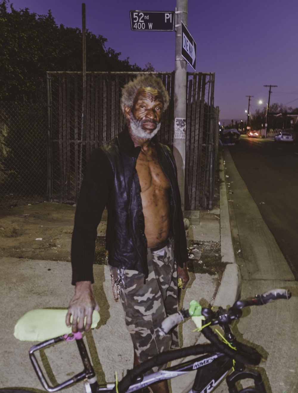 Andre Green - The Custom Bike Maker || on 52nd Pl. Los Angeles, CA November 14, 2016