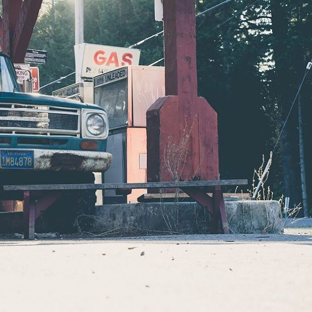 Trying to view things from different perspectives... #tjmallorydotcom #photography #vintagetruck #gas #classiccars #roadtrips