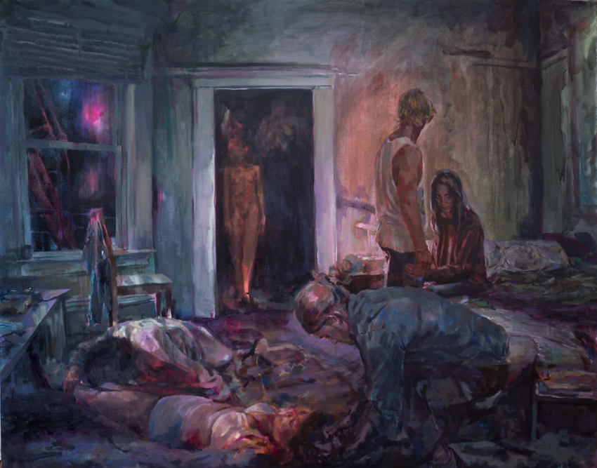The Void, oil on canvas, 122 x 152 cm, 2015