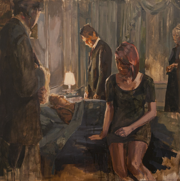 The Fraud, oil on canvas, 110 x 110 cm, 2010