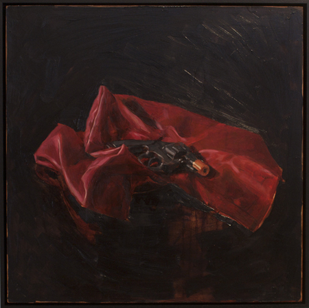 The Fraud,  oil on board, 40 x 40 cm, 2010