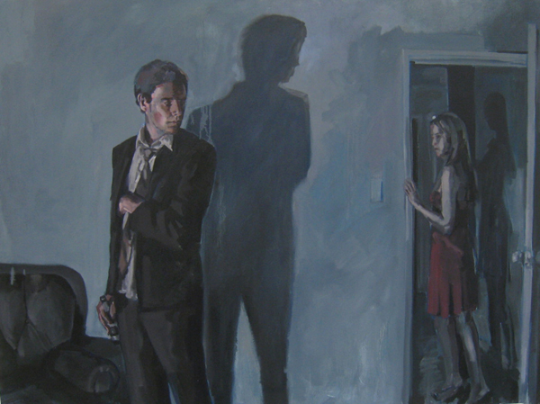 The Audience, oil on canvas, 2009, 92 x 122 cm, 2009