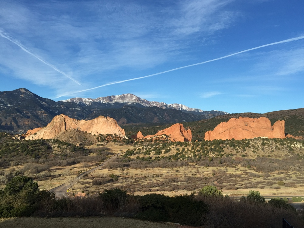 Garden of the Gods, Colorado Springs, Colorado Photo by Shane Bowen