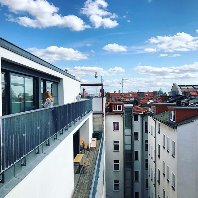 Regram from @katekendall featuring the view from @factoryberlin. Love this space! 🇩🇪🙏👩‍💻