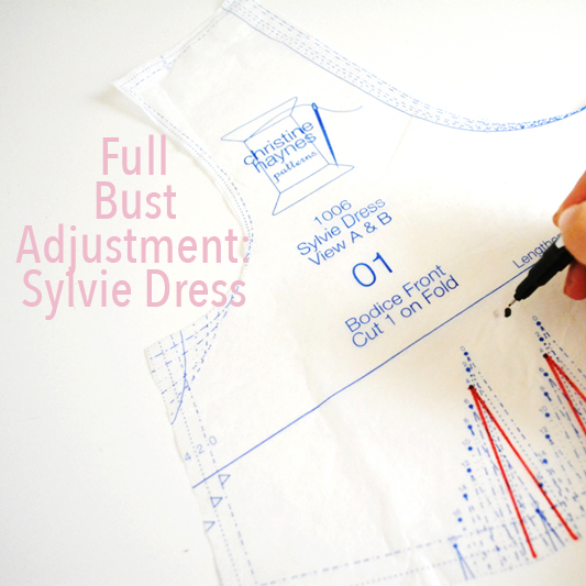 Full Bust Adjustment: Sylvie Dress - City Stitching with Christine Haynes