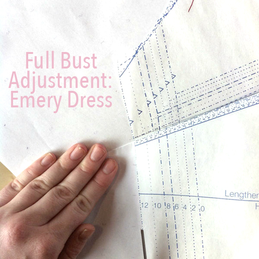 Full Bust Adjustment: Emery Dress - City Stitching with Christine Haynes