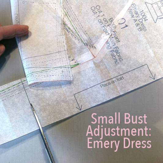 Small Bust Adjustment: Emery Dress - City Stitching with Christine Haynes